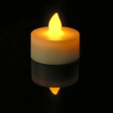 LED AMBER FLICKER TEA LIGHT